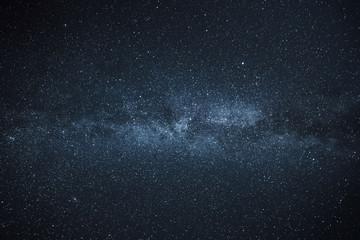 Milky Way Galaxy blue green
