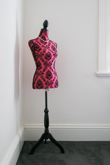 Paisely Mannequin Bodice as home decor