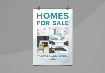 Real Estate Flyer Layout 1