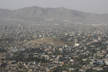 View of Kabul, capital city of Afghanistan