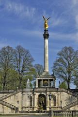 Friedensengel (Angel Column), Munich, Bavaria, Germany, Europe