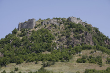 Zvecan fortress near North Mitrovica, Kosovo