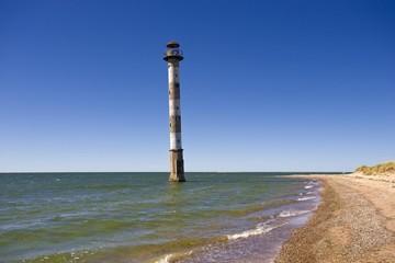 Kippsaare lighthouse, Harielaide peninsula, Vilsandi National Park, Saaremaa, island in the Baltic Sea, Estonia, Baltic states, Northeastern Europe, Europe