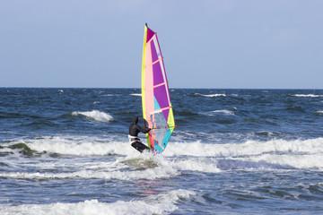 surfer in der ostsee