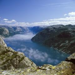 Lysefjord, Norway, Europe
