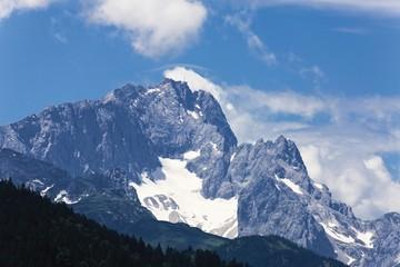 Zugspitze Mountain, Werdenfelser Land region, Upper Bavaria, Germany, Europe
