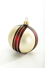 Patterned Christmas ornament, ball