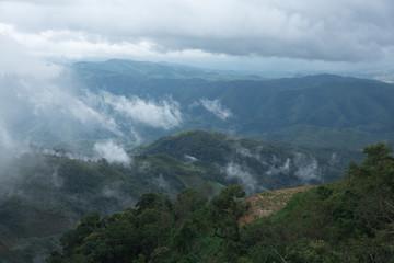View of mountain Vangvieng Laos