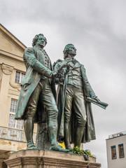 Goethe-Schiller-Denkmal, Weimar
