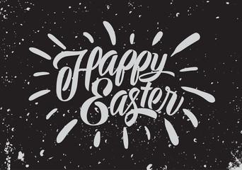 Easter banner. Vector illustration.