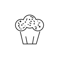 Easter cake icon