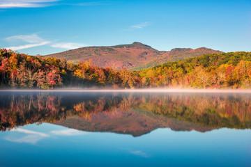 Grandfather Mountain, North Carolina in Fall
