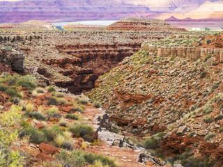 San Juan valley, US Hwy 163 - Utah, USA