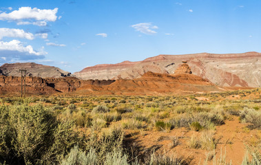 Mexican Hat Rock, San Juan valley, US Hwy 163 - Utah, USA