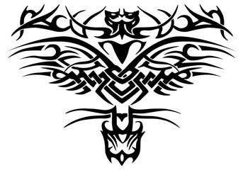 complex ornament tattoo