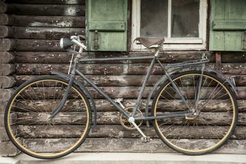 Antikes Fahrrad