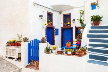 House in Oia, Santorini