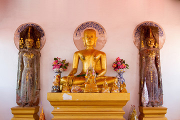 Buddha in a temple