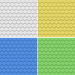 Four textured background in different colors