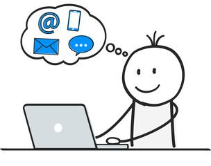 E-Commerce / Nachrichten / Online Shopping