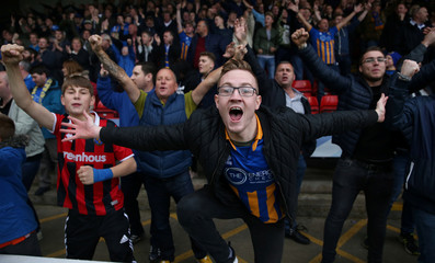 League One - Walsall vs Shrewsbury Town