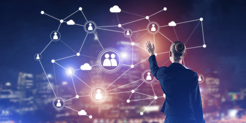 Modern wireless technologies and networking as tool for effective business