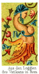 Ornament from Vatican loggias (from Meyers Lexikon, 1896, 13/248/249)