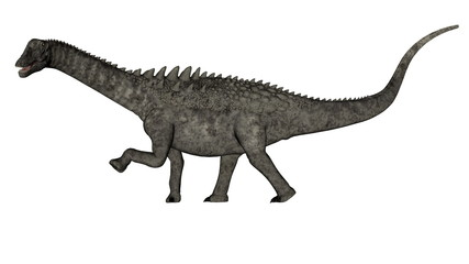 Ampelosaurus dinosaur - 3D render