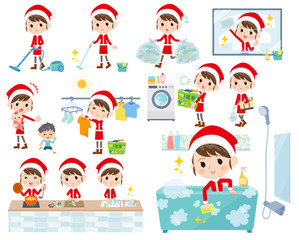 Santa Claus Costume mom_Housekeeping