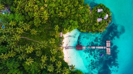 Raja Ampat island. West Papua, Indonesia.