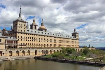 The Royal Site of San Lorenzo de El Escorial, Spain.