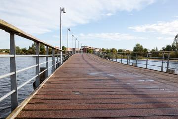 foot and bicycle bridge