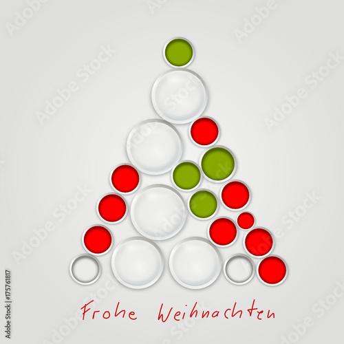Symbol Weihnachtsbaum.Tannenbaum Symbol Zeichen Frohe Weihnachten Christbaum