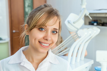Young Professional Woman Dentist
