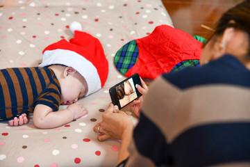 日本の家庭のクリスマス