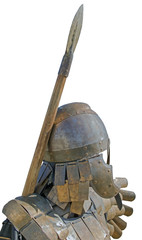 Reconstruction of knightly armor - armor and helmet