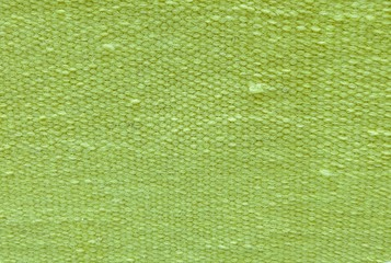 Close Up of Green Cotton Textile Texture