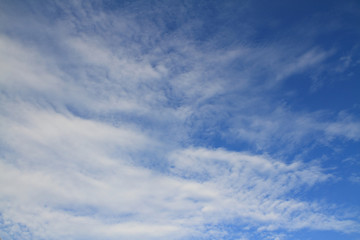 light blue sky and white cloud beautiful sunlight tranquil view outdoor background
