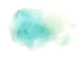 blue watercolor splash vector painted water color background