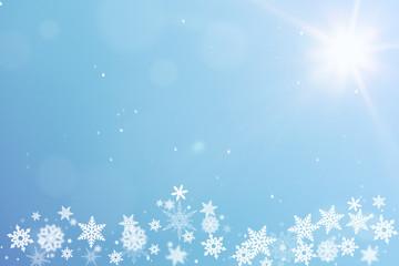 Winter Hintergrund mit Schnee