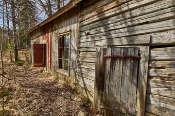 Rural Wooden Window