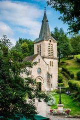 L'église Sainte-Marie-Madeleine à Belcastel