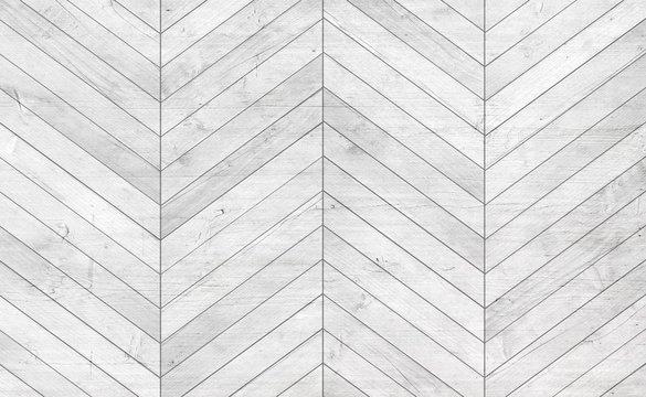 Natural gray wooden parquet herringbone. Wood texture.