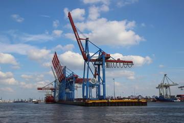 Container Terminals im Hamburger Hafen