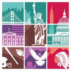 Traditional symbols USA