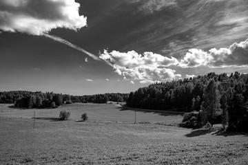 Rural area near Helsinki Finland