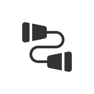 Communication Glyph - String Phone Icon