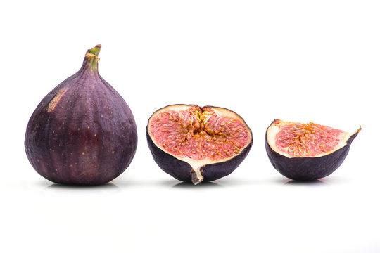 fresh fig isolated