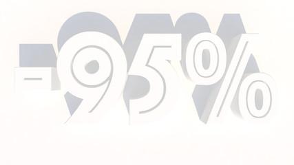 3d rendering percentage discount number
