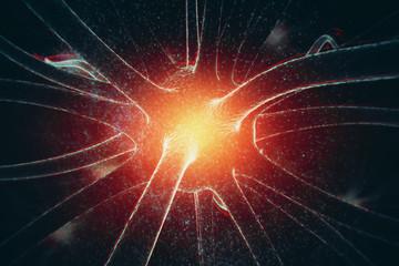 Neuron background, medicine concept